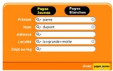 French Yellow Page And White Pages-0P5B