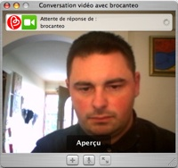 Ichat-Unidirectionnel--one way video chat - one way video chat