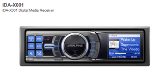 Auto-Radio-Ipod-Alpine
